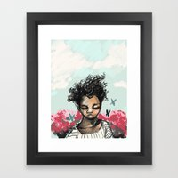 The Most Beautiful Flowe… Framed Art Print