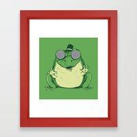 Hypnogenic Toad Framed Art Print
