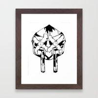 Bandit Doom Framed Art Print