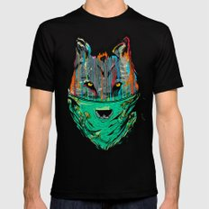 Wolf Mother - Screen Print Edition  Mens Fitted Tee Black SMALL