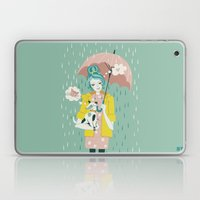 Walking The Dog Laptop & iPad Skin