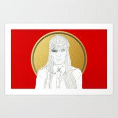 XX (Crystalised) Art Print