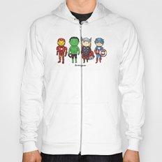 Super Cute Heroes: Avengers! Hoody