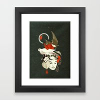 and then there were birds Framed Art Print
