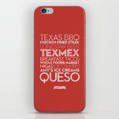 Austin — Delicious City Prints iPhone & iPod Skin