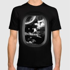 Intruder Mens Fitted Tee Black SMALL