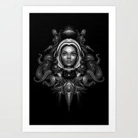 Space Horror 3000 Art Print