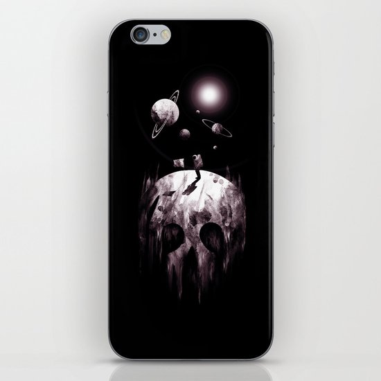 the darkside iPhone & iPod Skin