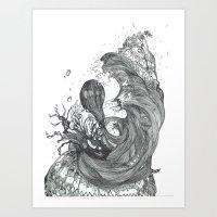 Eatsleepdraw Cover Art -… Art Print