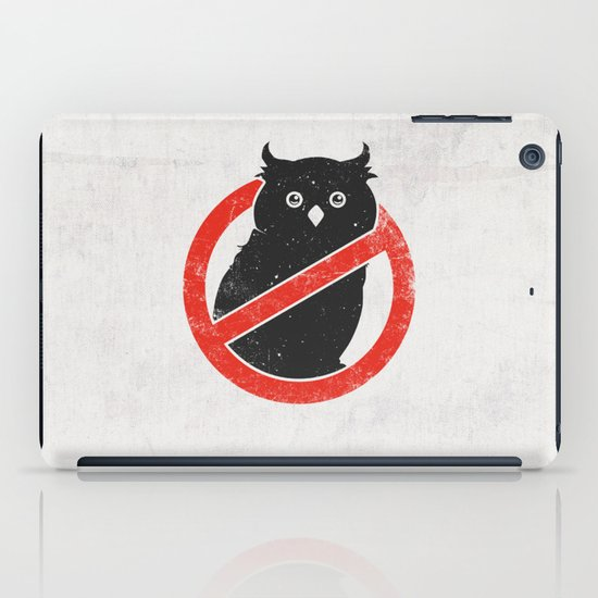 No Owls iPad Case