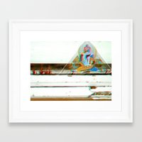 Tan^3d°c Framed Art Print