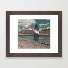 BLOW A WISH Framed Art Print