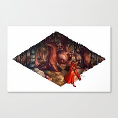 Sweetest Tooth has Sharpest Claw Canvas Print