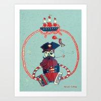 Sing A Sea Song Art Print