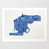 Lost City Art Print