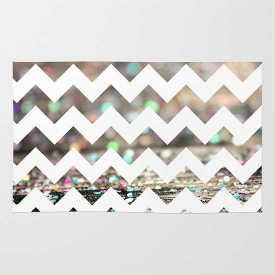 Afterparty Chevron Area & Throw Rug
