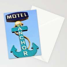 Anchor Motel Stationery Cards