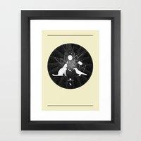 Urban Animal Noise Framed Art Print