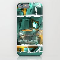 iPhone & iPod Case featuring electric avenue by bsvc