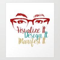 Visionary  #VDM Art Print