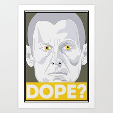Lance Armstrong - Still Dope or Just Dope? Art Print
