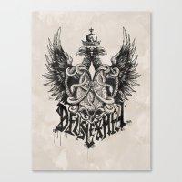 Deus Lex Mea - God Is My… Canvas Print