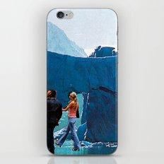 walking on ice iPhone & iPod Skin