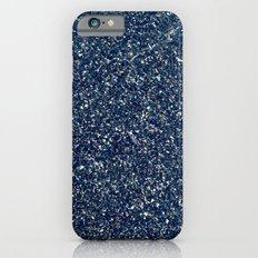 Black Sand II (Blue) iPhone 6s Slim Case