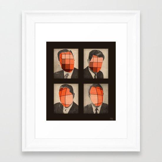 Rubicon Men Framed Art Print