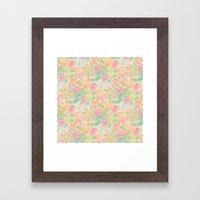Forever Bouquet Framed Art Print