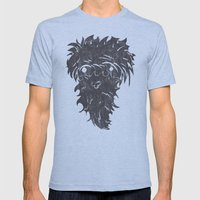 Caveman Mens Fitted Tee Athletic Blue SMALL