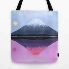 Two Fuji - Painting Tote Bag