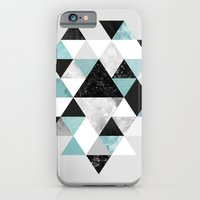 iPhone & iPod Case featuring Graphic 202 Turquoise by Mareike Böhmer Graphics