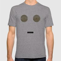 minimalist c3po Mens Fitted Tee Athletic Grey SMALL