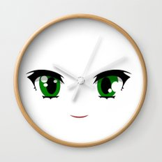 Anime face Wall Clock