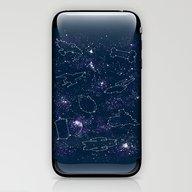 Star Ships iPhone & iPod Skin
