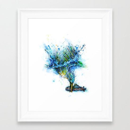 Nautical Problem Framed Art Print