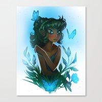 Maggie's Garden Canvas Print