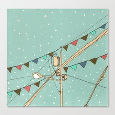 Street Party Canvas Print