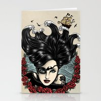 Pirate Queen (Color) Stationery Cards