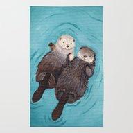 Otterly Romantic - Otter… Rug