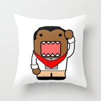 Domo Bonifacio Throw Pillow