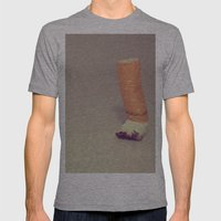 HABIT Mens Fitted Tee Athletic Grey SMALL