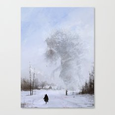 another day at work... Ded Moroz Canvas Print