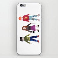 Harry, Hermione, And Ron iPhone & iPod Skin