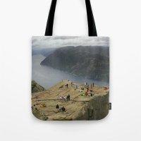 Preikestolen, Norway (2) Tote Bag