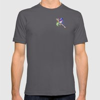 Small bird Mens Fitted Tee Asphalt SMALL