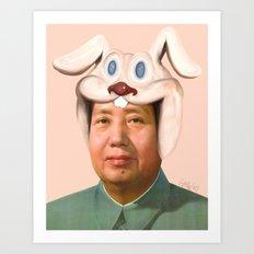 Rab Mao Babe Art Print