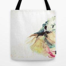 Rainbow dress Tote Bag