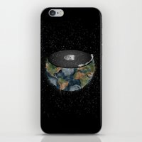 It makes the world go round. iPhone & iPod Skin